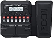 Zoom G1X FOUR Guitar Multi-Effects Processor with Expression Pedal, With 70+ Built-in Effects, Amp Modeling, L