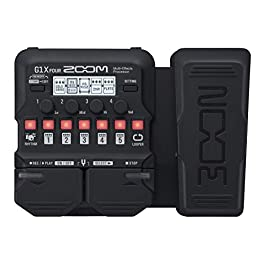 Zoom G1X FOUR Guitar Multi-Effects Processor with Expression Pedal, With 70+ Built-in Effects, Amp Modeling, Looper…