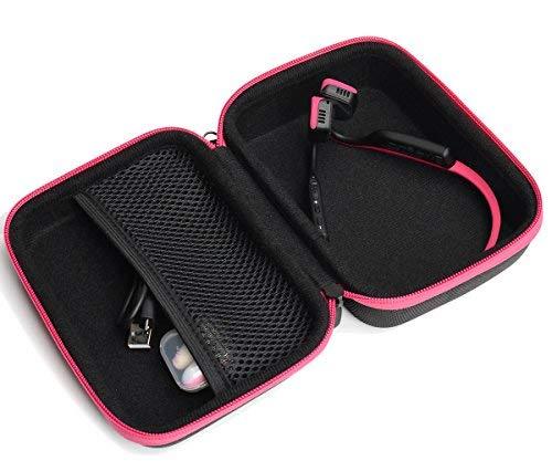 CaseSack Bone Conduction Headphones Case for Aftershokz Trekz Titanium/Mini/Air Bone Conduction, Bluez 2, 2S; KSCAT, Sades, DIGICare, allmity, Yaklee, Abco Tech, LQING, longee, HYON, 4inloveme, koa