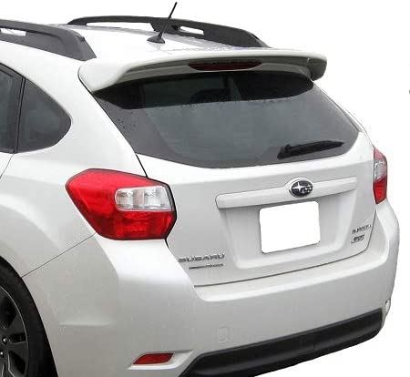 Accent Spoilers-Spoiler for a Subaru Impreza//Crosstrek 5-Door Roof Factory Style Spoiler-Ice Silver Metallic Paint Code G1U
