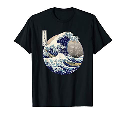 (Kanagawa Japanese The great wave T shirt)