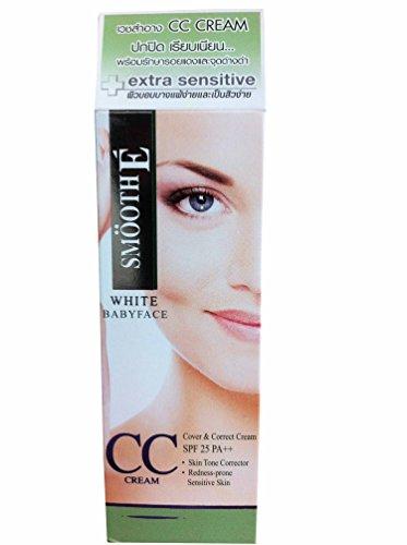 Smooth E white babyface CC cream SPF 25 PA++