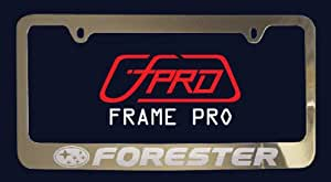 Subaru Forester License Plate Frame (Zinc Metal)