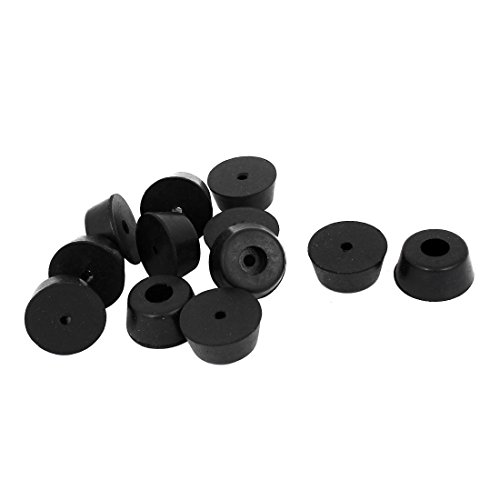 uxcell® Furniture Non-slip Tapered Rubber Feet Washer 22mm x 10mm 12 Pcs (Screw In Rubber Feet compare prices)