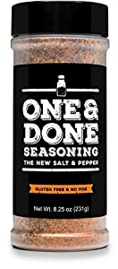 One & Done, All-Purpose Seasoning, 8.25 Ounces