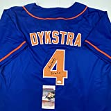 Autographed/Signed Lenny Dykstra 86 WS Champs New