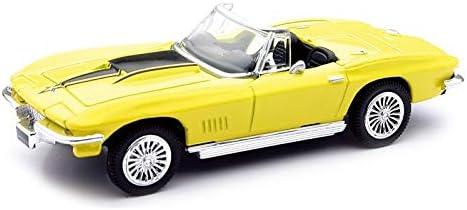 Voiture Americaine Chevrolet Corvette 1967 Jaune 1//43/° NEWRAY