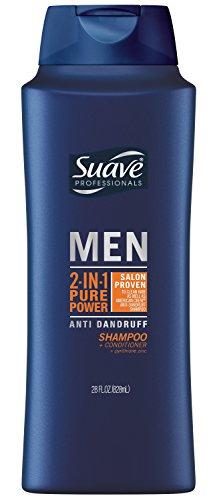 Suave 2-in-1 Anti Dandruff Shampoo and Conditioner for Men,