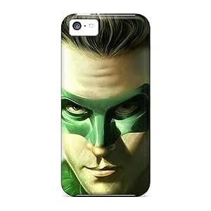 MMZ DIY PHONE CASEiphone 4/4s Jgg9881drqq Support Personal Customs Beautiful Green Lantern Skin Shock-Absorbing Hard Phone Covers -JacquieWasylnuk