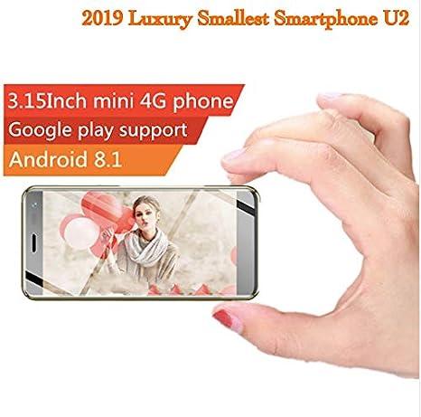 Amazon.com: Ulcool U2 - Smartphone ultradelgado (Android 8.1 ...