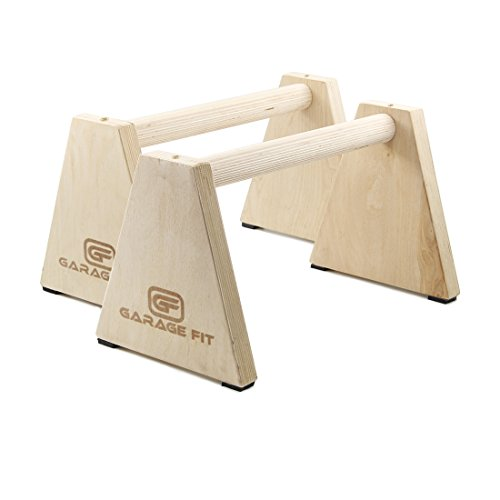 Parallette Stand Handstand Wooden Parallettes