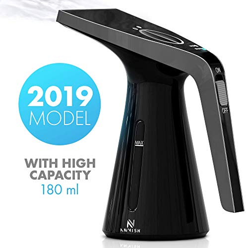 ANVISH Steamer for Clothes Portable Powerful Fabric Handheld Garment Steamer and Wrinkle Remover with High Capacity for Home and Travel