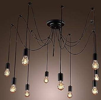 Retro De Loft Suspension Lampe Edison Plafond Ultramoderne uTKJ513lcF