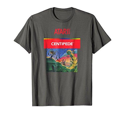 Atari Centipede 2600 Box Art T-shirt for Men or Women in 5 colors