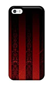 High Grade ZippyDoritEduard Flexible Tpu Case For Iphone 5/5s - Black And Red