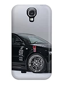 Galaxy S4 Case Cover - Slim Fit Tpu Protector Shock Absorbent Case (audi A3 9)