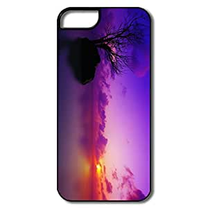 IPhone 5 5S Cases, Maldivian Sunset White/black Cases For IPhone 5/5S