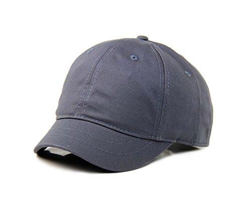 Umpire Cap - Crazy Cart Hot Sell Adjustable Men and Women Sun Hat Breathable Short Brim Baseball Cap Grey