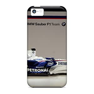 Archerapp48a8 Perfect Tpu Cases For Iphone 5c/ Anti-scratch Protector Cases (bmw Sauber F1 Side View)