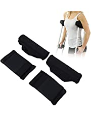 Crutch Pads, Crutch Grip Pads Armpit and handle Comfortable crutches Upholstery Crutches Handle pads Upholstery for crutches Accessories against friction Crutch pads Handle pads Crutch pads