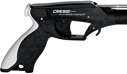 Cressi Apache Aluminum Speargun with Stainless Steel Shaft /& Sling