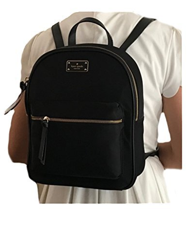 Kate Spade New York Wilson Road Small Bradley Backpack Purse (Black)