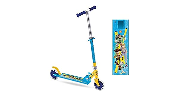 Toy Story - Patinete de Aluminio, Freno y Manillar Ajustable ...
