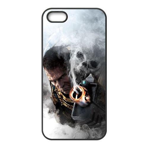 W6Y76 warhammer, espace marin L1M7MI coque iPhone 4 4s cellulaire cas de téléphone couvercle de coque noire KL4BRS6QU