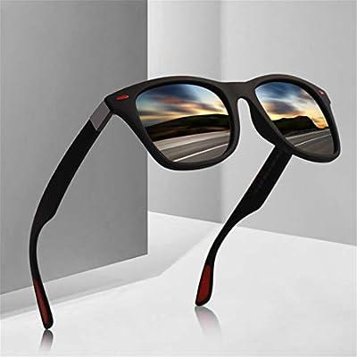 TR90 Polarized Sunglasses Men Women Driving Square Style Sun Glasses Male Goggle UV400