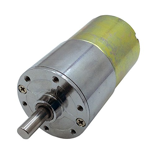 Miniature 120RPM Electric 12V DC Gear Box Reduction Motor with 6mm Output Shaft