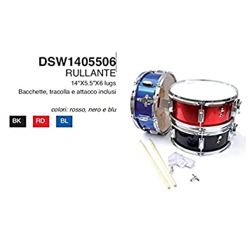 Rullante Mercury económico 14 x 5,5 azul banda o Batería dsw14055 completo: Amazon.es: Instrumentos musicales
