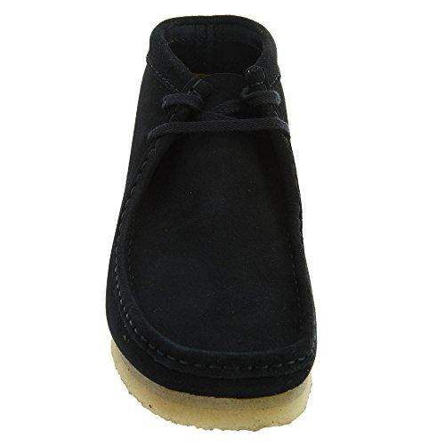 CLARKS - Boots - Homme - Wallabee Boot Suede Noir pour homme - 44
