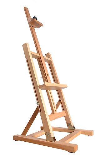Quantum Art cavalletto da tavolo 1030mm, in legno di faggio, 81–106,7cm 81-106 Quantum Art Ltd QA-TE-1030BW