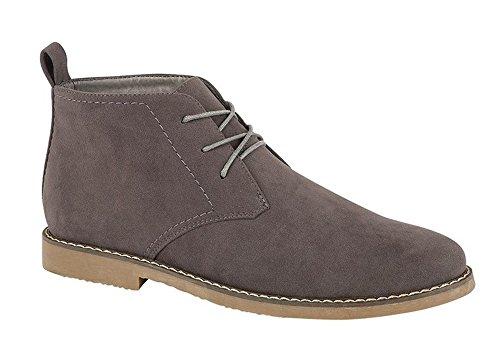 Grey finto stivaletti Panama con lacci alla camoscio in classici Southwell caviglia alla fino Charles caviglia color deserto HqxwBaT0