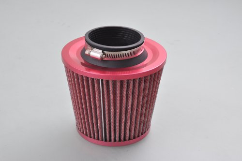 Liquor 3' Inside Diameter Air Intake Filter Red Car New Universal Cold Round Cone