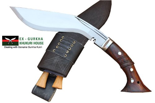 Genuine Full Tang Hand Forged Blade Khukri Knife – 10 Blade Gurkha Ww I Historic Bushcraft Kukri – Handmade By Egkh in Nepal Zombie Apocalypse Choppe…