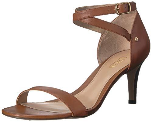Glinda Shoes - Lauren Ralph Lauren Women's Glinda Heeled Sandal, Light Beige, 5.5 B US