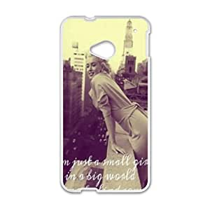 SHEP Marilyn Monroe 4 Days In New York Phone Case for HTC One M7