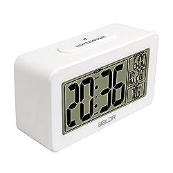 BALDR Smart Alarm Clock Student, White
