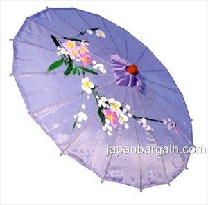 JapanBargain S-2167, Japanese Chinese Umbrella Parasol 32-inch Diameter, Lavender