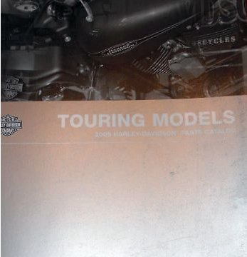 2009 Harley Davidson TOURING Parts Catalog Manual Book OEM Brand New 2009 ()