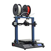 GEEETECH A20M 3D Printer with Mix-Color Printing, Integrated Building Base & Dual extruder Design, Filament Detector and Break-resuming Function, 255×255×255mm³, Prusa I3 Quick Assembly DIY kit. by Geeetech