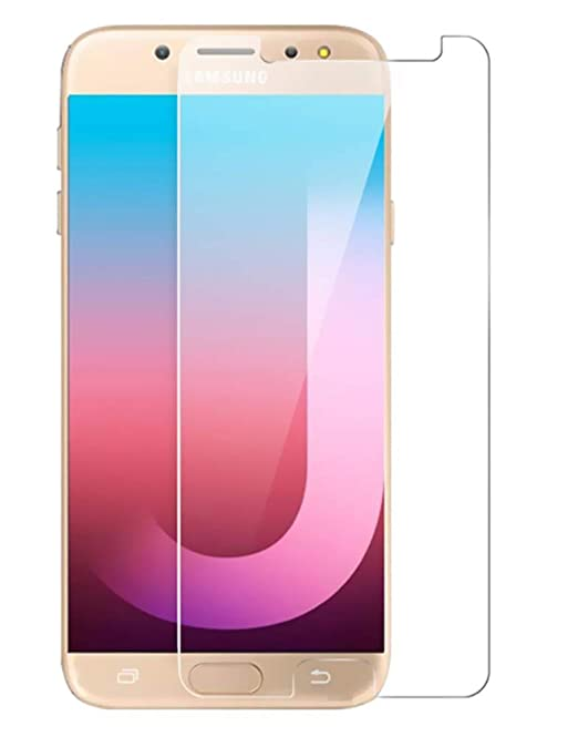 Klixx Tempered Glass Guard for Samsung Galaxy J7 Pro  5.5 inch  Mobile Accessories
