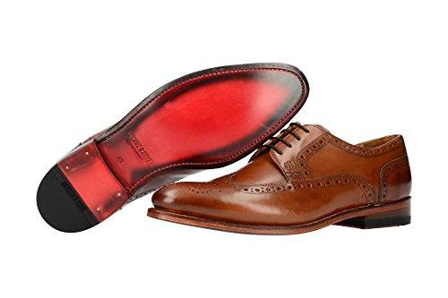 Gordon & Bros 5093-K Brown 9, Stringata Classica Uomo Marrone chiaro