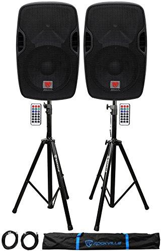 600w 12' Pa Speaker - 2) Rockville BPA12 12