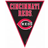 Cincinnati Reds Baseball - Pennant Banner Party Accessory
