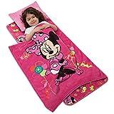 Minds In Sync Aquatopia Deluxe Memory Foam Nap Mat Set, Pink Minnie Mouse