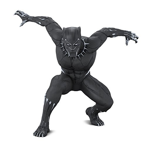 Hallmark Keepsake Christmas Ornament 2018 Year Dated, Marvel Legends Avengers Black Panther Figure -