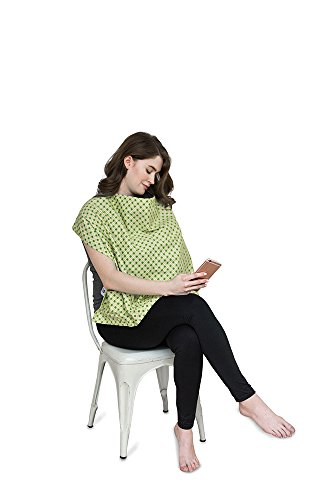 (Belly Armor Nursing Cover with Anti-Radiation Shielding Fabric (Mint))