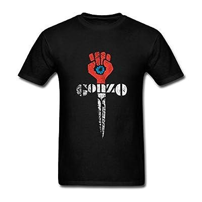 JuDian Gonzo Fist Art T Shirt For Men